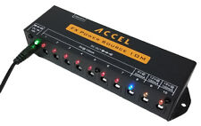 """Power Supply for Effects Pedals: Accel FX power Source 10M"""" w/mounting flanges"""