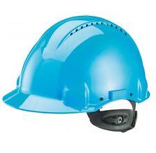 3M Peltor Schutzhelm Bauhelm Bauschutzhelm G3000N ABS Ratschensystem blau Helm