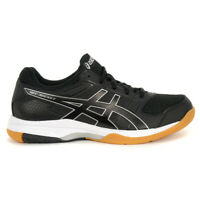 ASICS Women's Gel-Rocket 8 Black/White Indoor Court Shoes B756Y.9090 NEW