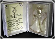 Daughter 18th  Birthday gift personalised with keepsake necklace CD10
