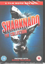 Sharknado The Collection -  3 Film Movie Set - Brand New & Sealed