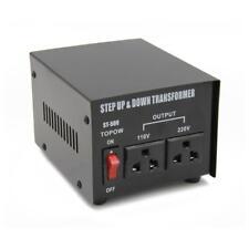 500 Watt Step Up Step Down Electrical Power Voltage Converter Transformer