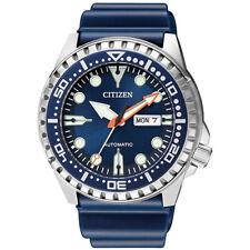 Citizen Orologio Automatico Uomo Solo Tempo Marine Sport NH8381-12L