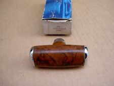 74-76 Ford Mustang burled walnut shifter handle, D4ZZ-7213-A, NOS