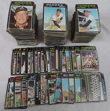 1971 Topps Starter/Partial Set,Commons,Minor Stars,Team,P-VG Mixed Lot of 750