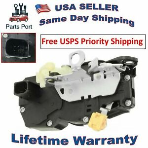 Power Door Lock Actuator Front Right FR / Passenger Side Cadillac Chevrolet GMC