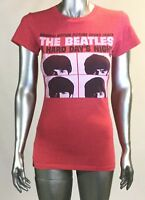 Vintage The Beatles A Hard Day's Night T Shirt, Size M, Pink