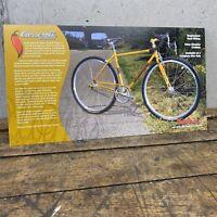 Salsa Casseroll Vintage Bicycle Spec Card Sheet Manual Brochure