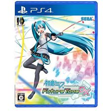 Hatsune Miku Project DIVA Future Tone DX SONY PS4 PLAYSTATION 4 JAPANESE Version