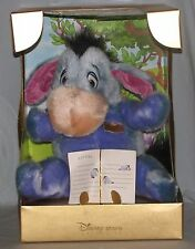 Disney Herloom Eeyore Plush Toy Winnie The Pooh Never Removed From Box