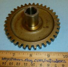 LYCOMING p/n 68467 GEAR SHAFT, OIL PRESSURE & SCAVENGE DRIVE (Aviation/Aircraft)