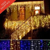 String Fairy Curtain Luxury Led Party Lights Light Decoration Christmas 300 Xmas