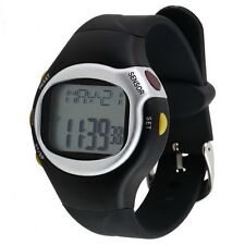 Pulse Heart Rate Monitor Wrist Watch Calories Counter Sports Fitness