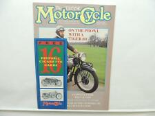 May 1989 THE CLASSIC MOTORCYCLE Magazine Triumph Tiger Matchless Sunbeam L9711