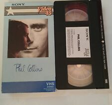 Sony Video 45 Phil Collins VHS In The Air Tonight I Missed Again Cant Hurry Love