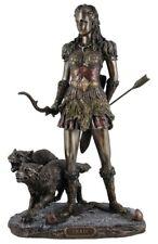 Veronese Bronze Figurine Religious Norse Mythology Goddess Skadi Skaoi Vikings