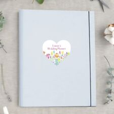A4 Luxury Ultimate Wedding Planner/Organiser featuring Personalised Floral Heart