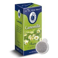 18 Cialde Miscela Camomilla - Filtro in Carta da 44mm - Caffè Borbone