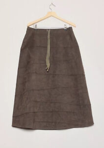Neesh By D.A.R. Brown Long Skirt Size Small