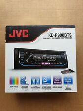 JVC Car Receiver KD-R990BTS Radio AM/FM CD Bluetooth SiriusXM Ready Change Color