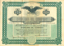 Overland Oil Company 1910 - RARITÄT -