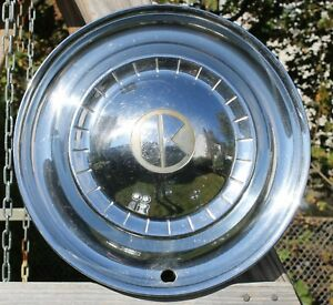 "1951 Kaiser Deluxe 15"" Hubcap Wheel Cover OEM  51 Vintage"