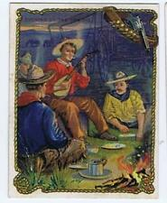 Hassan Cigarettes Cowboy Series T53 Evening on the Prairie high grade 323