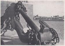 D4196 Brindisi - Monumento ai Caduti del Mare - Stampa d'epoca - 1942 print
