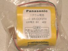 Brand New Panasonic Br Ccf2th Plc 6v 5000mah Lithium Battery With Wire