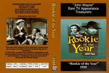 "JOHN WAYNE IN ""ROOKIE OF THE YEAR"" RARE DVD"