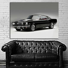Poster Mural Ford Mustang Muscle Car 40x54 inch (100x135 cm) Adhesive Vinyl
