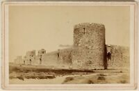 Aigues-Mortes Francia Foto PL53Cn Vintage Albumina c1880