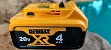 DeWalt DCB204 20V 20 Volt 4 Amp Lithium Ion Battery