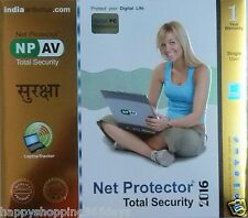 NPAV Netprotector Total Security 2016  1 User 1 Year