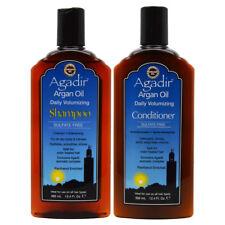 "Agadir Argan Oil Volumizing Shampoo & Conditioner 12.4oz ""Duo"" w/Free Nail File"