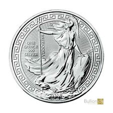 2018 Britain 1 oz Silver Britannia Oriental Border £2 GEM Proof Coin SKU55146
