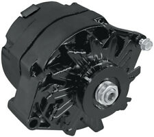 Aeroflow GM Black 120 Amp 1 Or 3 Wire Chev Style Alternator AF4270-1120