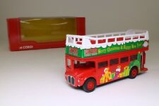 Corgi; Routemaster Open Top Bus; Kowloon Motor Bus; Christmas, Excellent Boxed