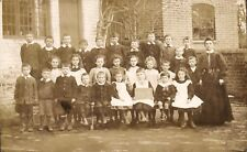 Forthampton near Tewkesbury. 1909 School Group 2.