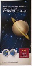 """Flyer Folder 25 EURO NIOB Österreich 2015 """"Kosmologie"""" - keine Münze"""
