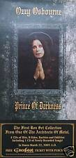OZZY OZBOURNE POSTER, PRINCE OF DARKNESS (O1)