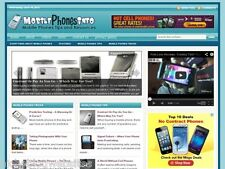 New Wireless / Cell / Smartphone WP Blog Website For Sale!