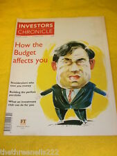 INVESTORS CHRONICLE - INVESTMENT CLUB - MARCH 12 1999