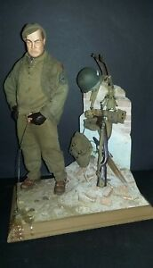"1/6 WWII DID Dragon  ""Diorama *Bastogne* - un petit moment de détente. ..."