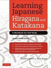 Learning Japanese Hiragana and Katakana: A Workbook for Self-Study by Tetsuo Takagaki, Kenneth G. Henshall (Paperback, 2014)