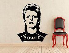 David Bowie Wall Decal Music Studio Vinyl Sticker Art Decoration Mural (175s)
