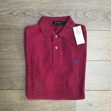 BNWT Ralph Lauren Mens Pink Polo Shirt RRP £70 Size S 100% Genuine