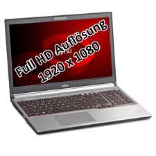 "Fujitsu LifeBook E754  i7 4712MQ 2,3GHz 8GB 500GB 15,6"" Win 10 Pro 1920x1080 Tas"