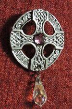 Pewter Amethyst Unisex Jewellery