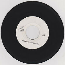 FREDDIE MERCURY (UNCREDITED) - THE GREAT PRETENDER - RARE PROMO TEST PRESSING